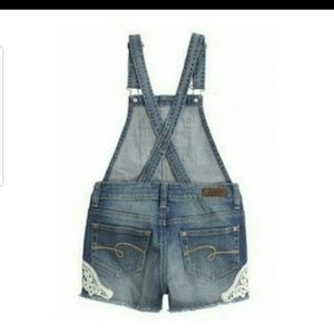 Justice One Pieces - Justice girls shorts overalls 14r